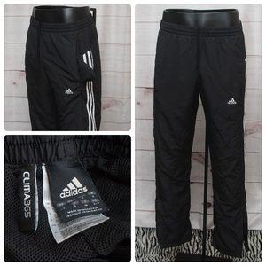 Adidas Clima365 Black Stripe Sweatpants Small Men